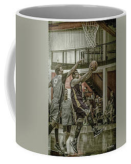 Coffee Mug featuring the photograph Almost Blocked by Ronald Santini