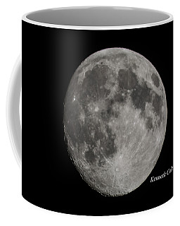 Almost Full Moon Coffee Mug
