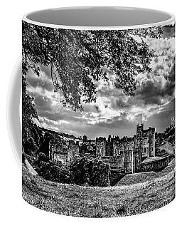 Alnwick Castle And Fallow Deer Coffee Mug