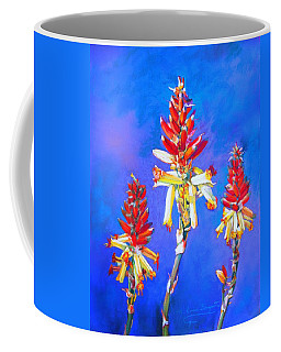 Aloe Flower Spike Coffee Mug
