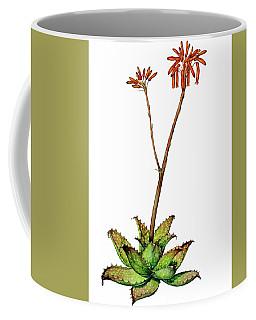Aloe Zebrina Coffee Mug