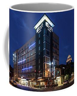 Coffee Mug featuring the photograph Aloft Louisville by Randy Scherkenbach