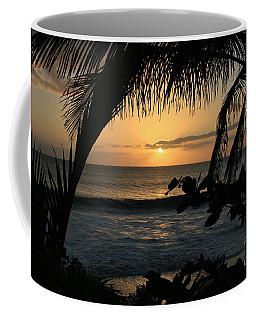 Aloha Aina The Beloved Land - Sunset Kamaole Beach Kihei Maui Hawaii Coffee Mug
