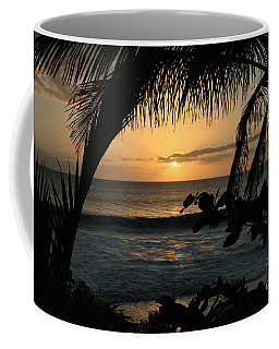 Aloha Aina The Beloved Land - Sunset Kamaole Beach Kihei Maui Hawaii Coffee Mug