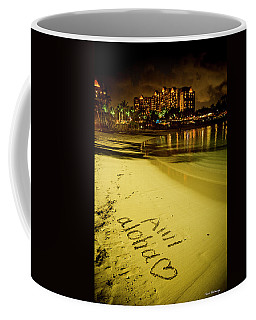 Ami Aloha Aulani Disney Resort And Spa Hawaii Collection Art Coffee Mug