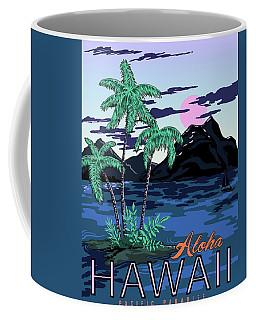 Aloha Hawaii, Pacific Paradise Coffee Mug