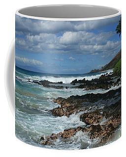 Aloha Island Dreams Paako Beach Makena Secret Cove Hawaii Coffee Mug