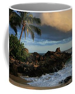Aloha Naau Sunset Paako Beach Honuaula Makena Maui Hawaii Coffee Mug