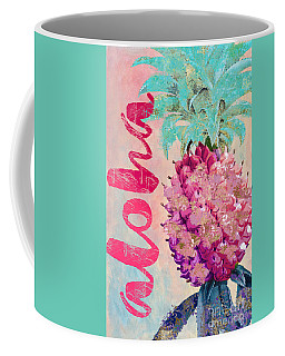 Aloha Pineapple Coffee Mug