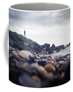Coffee Mug featuring the photograph Alone by April Reppucci