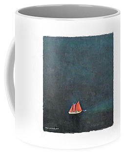 Coffee Mug featuring the photograph Alone by Art MacKay