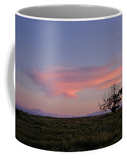 Alone At Sunset Coffee Mug