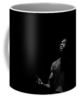 Coffee Mug featuring the photograph Alone? by Eric Christopher Jackson