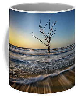 Coffee Mug featuring the photograph Alone In The Water by Rick Berk
