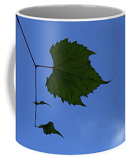 Alone In The Woods Horizontal Coffee Mug