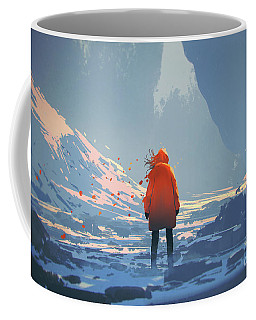 Alone In Winter Coffee Mug
