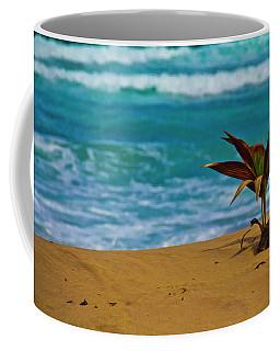 Alone On The Beach Coffee Mug