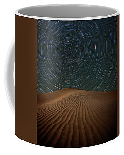 Coffee Mug featuring the photograph Alone On The Dunes by Darren White