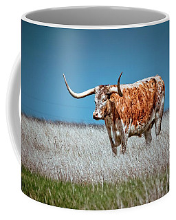 Coffee Mug featuring the photograph Alone On The Trail by Linda Unger