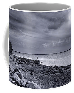 Alone With The Sea Coffee Mug