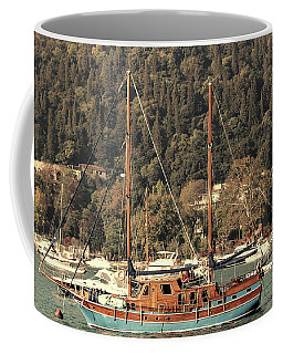 Coffee Mug featuring the photograph Along The Bosphorus-istanbul by Tom Prendergast