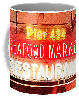 Coffee Mug featuring the photograph Along Bourbon Street - New Orleans by Glenn McCarthy Art and Photography
