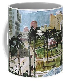 Along Flagler Drive Coffee Mug