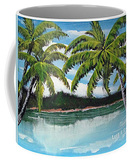 Along Palm Coast Coffee Mug