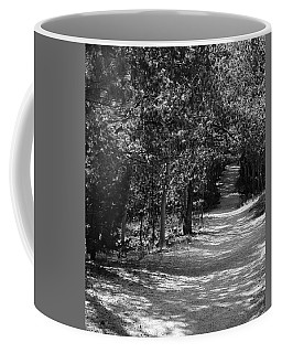 Coffee Mug featuring the photograph Along The Barr Trail by Christin Brodie