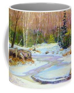 Along The Bi-hi  Coffee Mug by Rae  Smith PAC