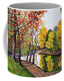 Along The Blanchard Coffee Mug