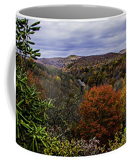 Along The Blue Ridge Parkway Coffee Mug