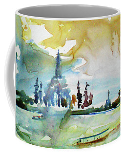 Along The Chao Phaya River Coffee Mug