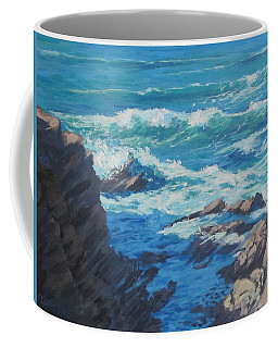 Along The Cliff Coffee Mug