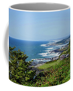 Along The Coastline On A Perfect Day Coffee Mug