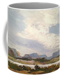 Along The Columbia Coffee Mug by Helen Harris