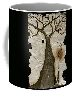 Along The Crumbling Fork In The Road Of The Tree Of Life Acfrtl Coffee Mug by Talisa Hartley
