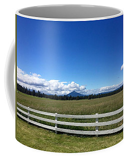 Along The Fence Line Coffee Mug