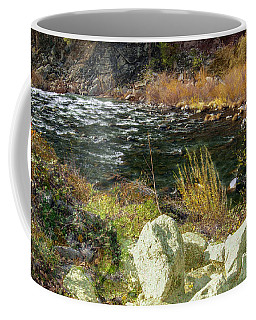 Along The Stream Coffee Mug