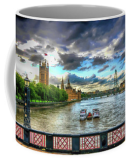 Along The Thames Coffee Mug
