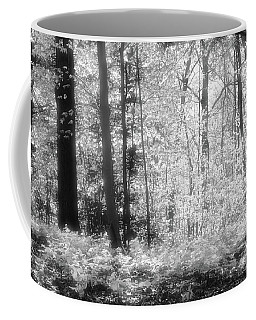 Along The Top Bw  Coffee Mug