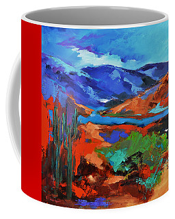 Along The Trail - Arizona Coffee Mug