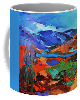 Along The Trail - Arizona Coffee Mug