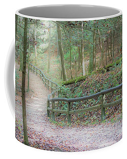 Along The Trail, Life Happens Coffee Mug