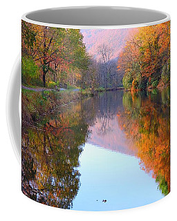 Along These Autumn Days Coffee Mug