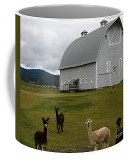 Alpacas Coffee Mug by Greg Patzer