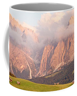Alpe Di Suisi Sunset Panorama Coffee Mug