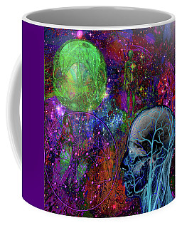 Alpha And Omega Electromagnetic Coffee Mug by Joseph Mosley