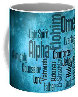 Coffee Mug featuring the digital art Alpha by Angelina Vick