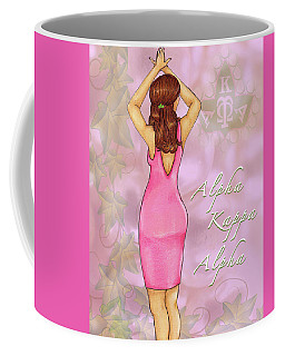Alpha Kappa Alpha - Pink Essence Coffee Mug